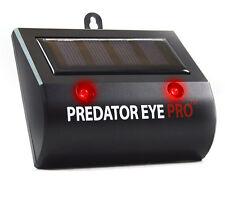 L 4600sq FT Predator Eye Pro Kick Stand Solar Powered Light Deterrent Night Time
