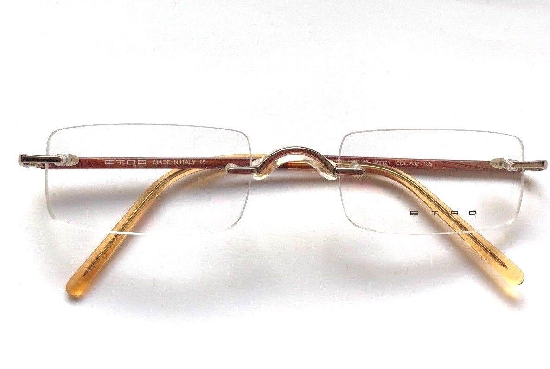 ETRO SE 9467 Eyewear Eyeglasses orange brown