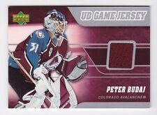 2006-07 NHL Upper Deck Game Jerseys Insert # J-BU Peter Budaj
