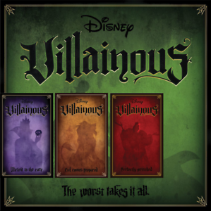 Disney Villainous Board Games Characters Expansion or Standalone By Ravensburger
