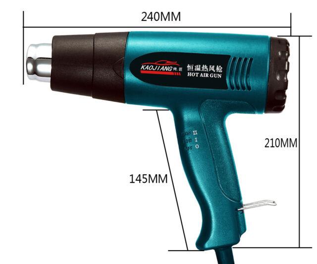 1PCS AC 220V Hot Air Gun tool Heat Hand Hold 1800W 300°-580°