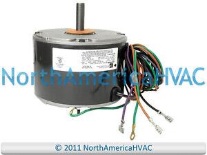 details about emerson york coleman condenser fan motor 1 8 hp 208 230 volt k55hxkwt 9824 5 wire motor wiring diagram lennox 12y65 1 4hp condenser fan motor