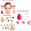 Libre-de-Latex-Forma-de-Gota-Maquillaje-Esponja-Mezcladora-de-Base-Base-patting-Buffer-Puff miniatura 4