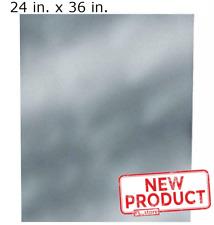 24 Inch X 36 Inch Galvanized Steel Flat Sheet Metal Durable 30 Gauge Fitting New