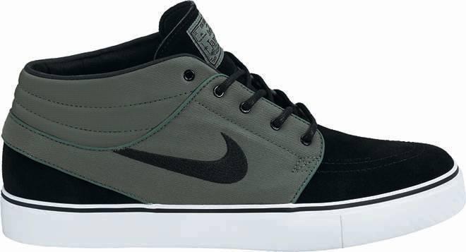 Nike NK ZM STEFAN JANOSKI MD Nori noir blanc Skate Discount (161) hommes Chaussures