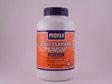 Now Foods Glucosamine & MSM - 180 Capsules