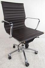 Unique Vintage Five Wheel Adjustable Swivel Office Chair (8441)NJ
