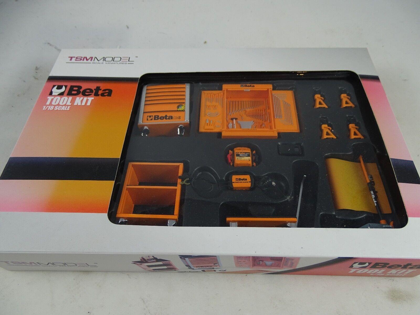 1 18 TSM Model Beta Tool Kit werkstattset Rarity §