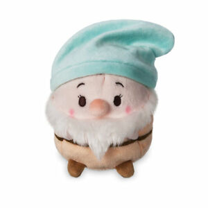 Disney-Store-Snow-White-amp-The-Seven-Dwarfs-4-5-034-H-Ufufy-Bashful-Scented-Plush-NWT