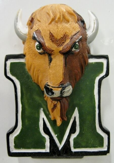 MARSHALL university Thundering Herd ncaa college ceramic MAGNET by Talegaters