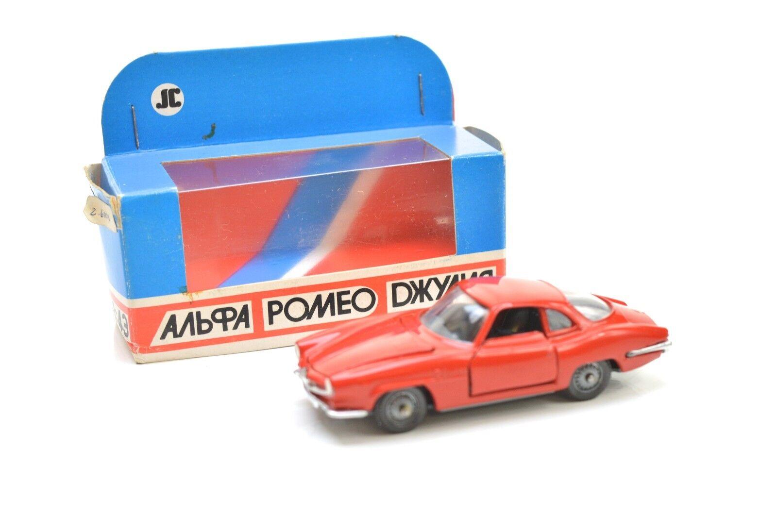 Jc ruso Diecast Alfa Romeo Giulia-ss