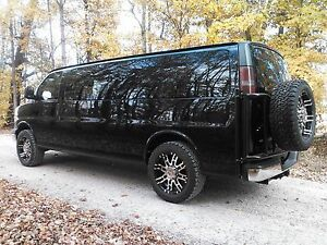 Image Is Loading Chevy Express Lift Kit For 20x9 Wheels 275