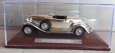 """DIE CAST """" AUBURN BOAT TAIL """" SILVER CARS COLLECTION ATLAS 1/43"""