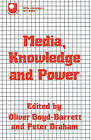 Media Knowledge and Power by Taylor & Francis Ltd (Paperback, 1986)