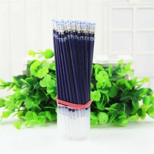10~50Pcs 0.5mm Ballpoint Pen Refills Gel Black Ink Refill Writing Pens 3 Colors