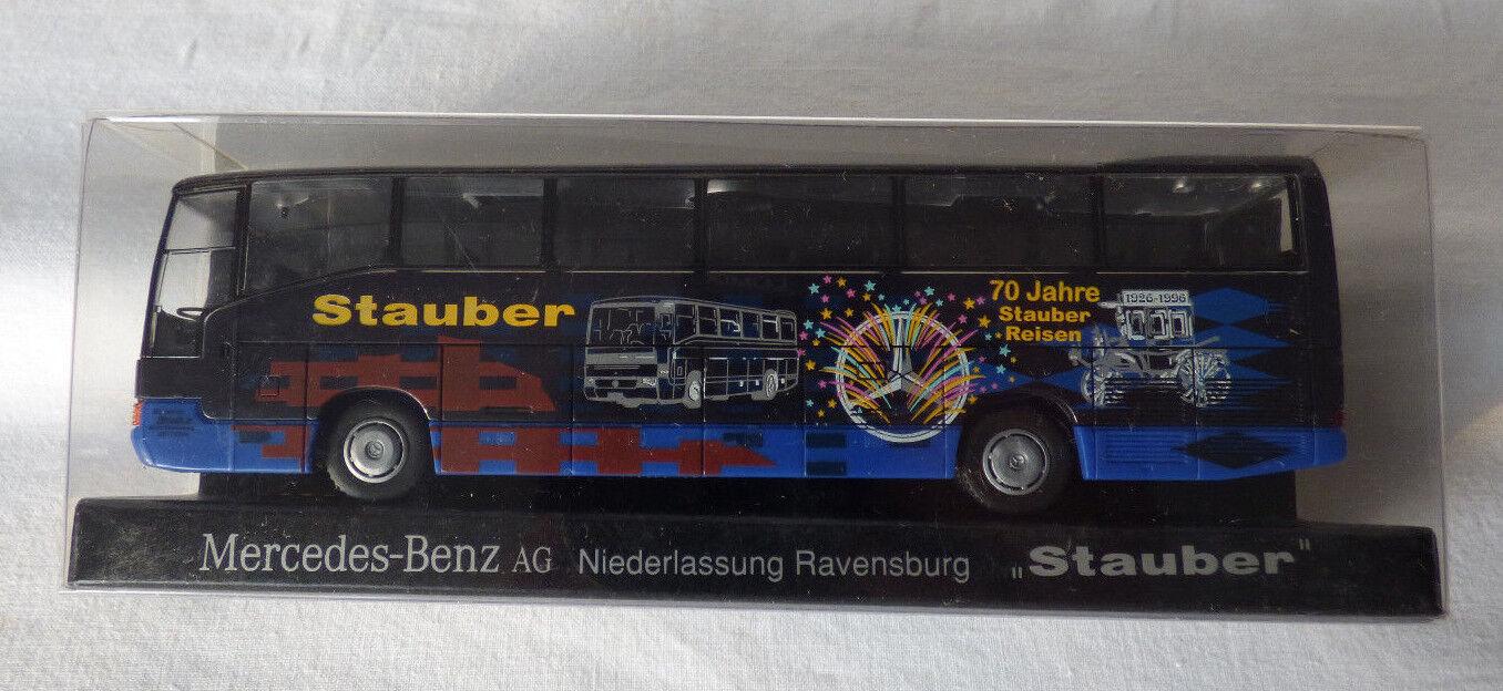 Rietze 1 87  H0 H0 H0  Mercedes Benz MB O 404 RHD Stauber-Reisen 70 Jahre in OVP 57bed0