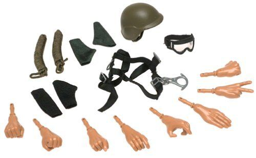 More Ultimate Soldier ACTION ACCESSORIES SET Hands