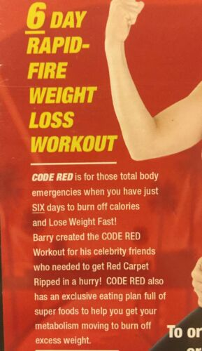 4 Barry S Bootcamp Workout Dvd Lot Set Upper Lower Body Code Red