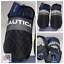 Nautica SOFT COMFORT Men/'s Andros Black Quilted Slippers Sandals Slides Sz Sm-XL