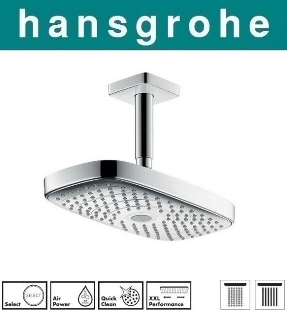 Hansgrohe Raindance 27384000 E300 Select 2jet Overhead Shower ...