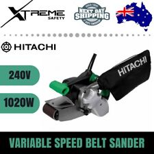 hitachi belt sander. hitachi 240v 1020w 75mm variable speed belt sander