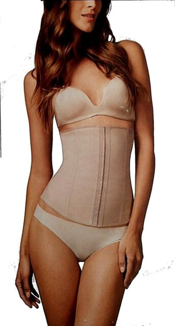 1990cc24643 Squeem Waist Firm Control Cincher Shapewear 26PW Beige Large for ...