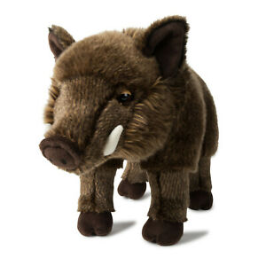WWF-Plueschfigur-Wildschwein-Eber-31-cm-Mach-den-Unterschied