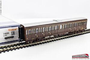 ROCO-74686-H0-1-87-Carrozza-passeggeri-FS-Centoporte-Cz-37007-di-3-Cl-Epoc