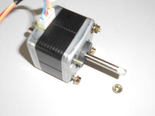 CNC Router Mill Robot Reprap Makerbot Double Shaft Stepper motor  Nema17