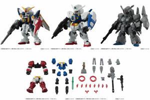 Bandai Mobile Suit Gundam Ensemble 14 Gashapon Figure Wing Age-1 Zeta Plus 5 pcs