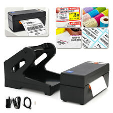Beeprt 4x6 High Speed Thermal Shipping Label Barcode Printer With Label Holder