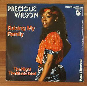 Single-7-034-VINYL-Precious-Wilson-Raising-my-family