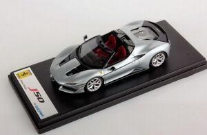 Looksmart Lools485d - Ferrari J50 Cabriolet Argent Brillant 2017 1/43