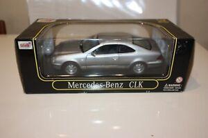 Anson-1-18-Scale-Diecast-30330-Mercedes-Benz-CLK-Coupe-Silver