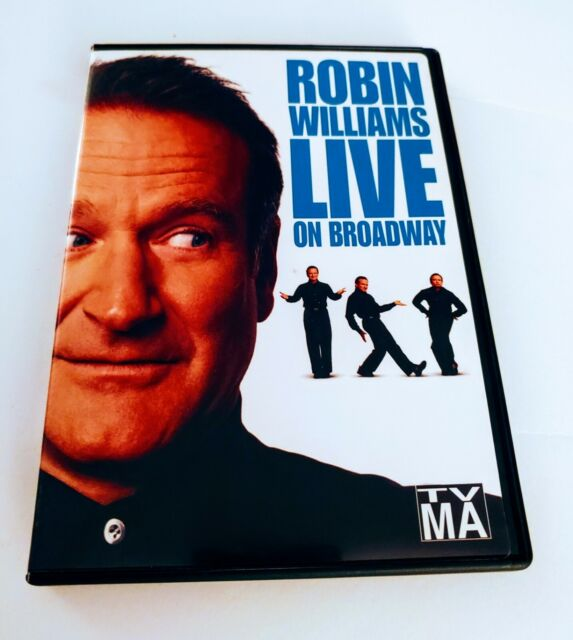 Robin Williams - Live On Broadway (DVD, 2002) for sale ...