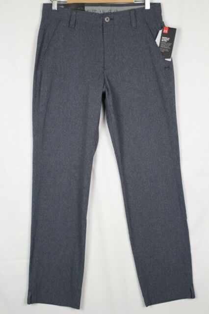 Under Armour Stealth Gray Match Play Vented Golf Pants