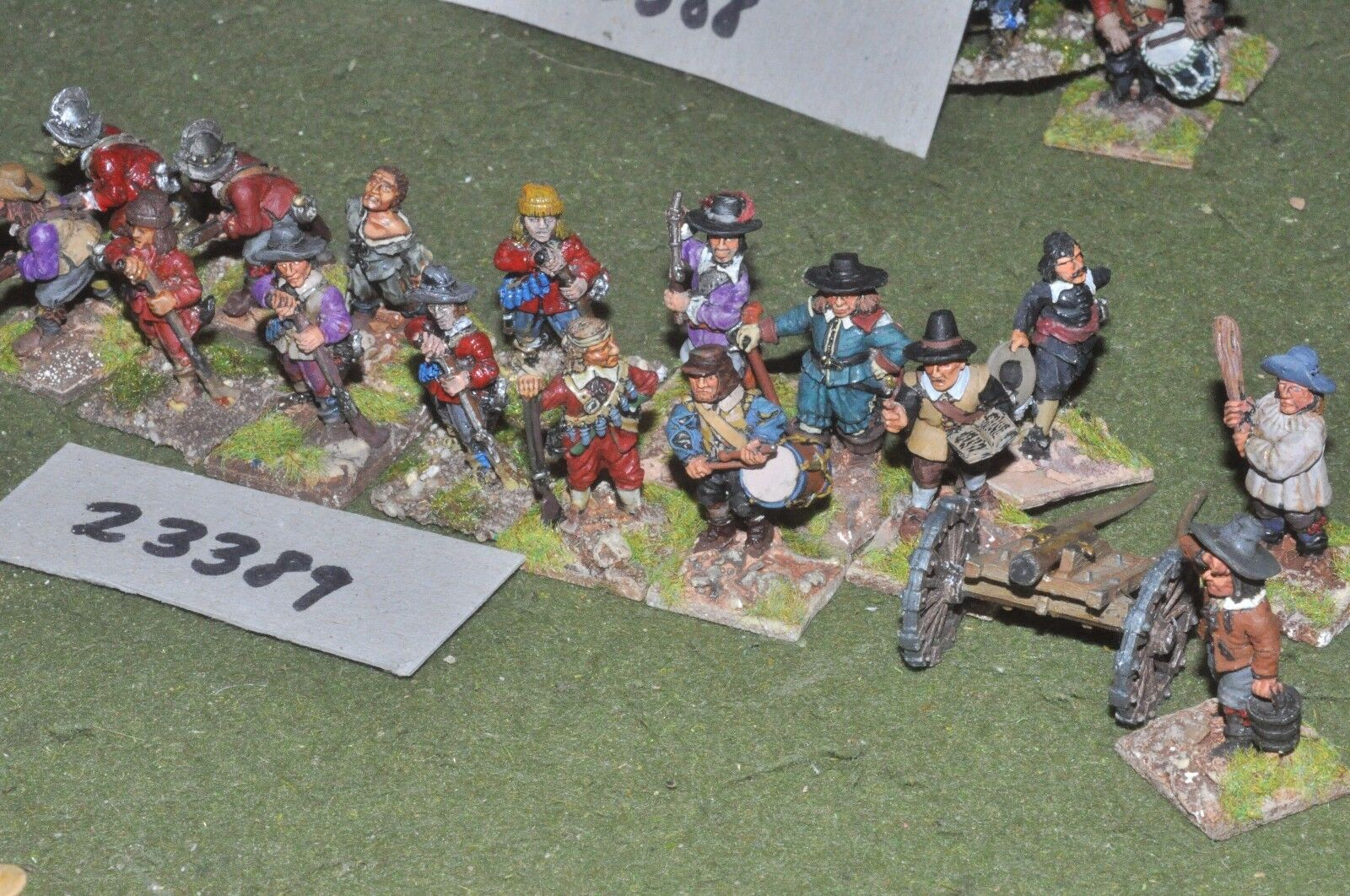 25mm ECW   parliament - battle group 16 figures - inf (23389)