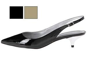 Women&amp039s Shoes TAHARI *Faye* Slingback Pumps Kitten Heels