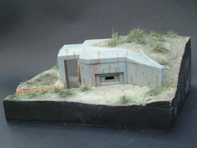 Mirage Hobby 1/35 354005 Armored Casemate/bunker Type 3