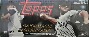 1999-TOPPS-HOBBY-SEALED-FACTORY-BASEBALL-COMPLETE-SET-462-Cards-SEALED