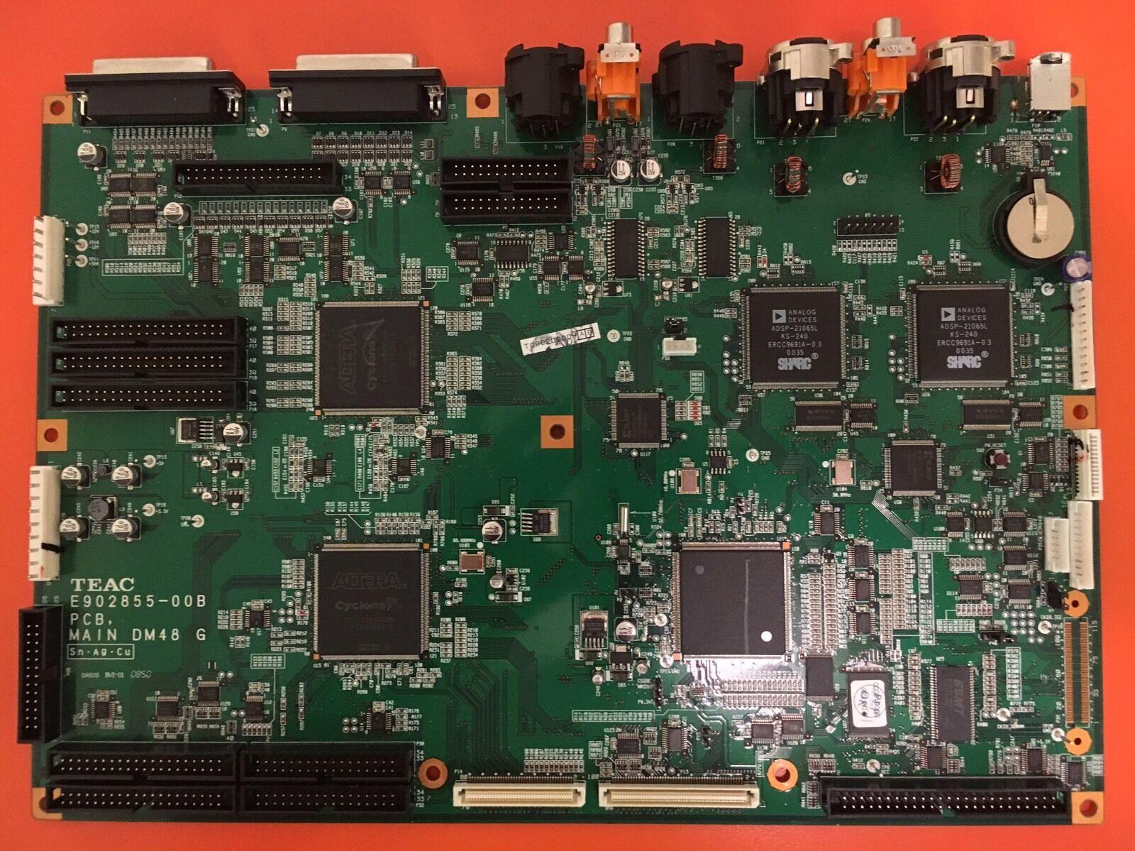 Tascam DM4800 DM3200 Main Board - TEAC E902855-00B PCB MAIN DM48 G