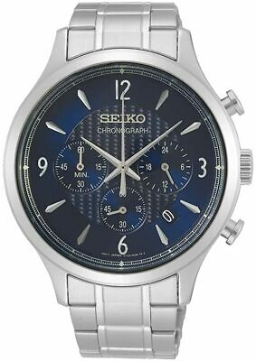 Seiko Men's Chronograph Watch with Stainless Steel Bracelet SSB339P1 4954630000000 | eBay