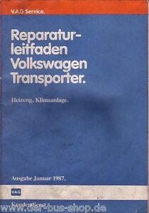 VW-Bus-T3-Reparaturleitfaden-Heizung-amp-Klimaanlage
