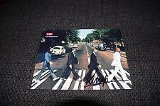 BEATLES Ringo Starr signed Autogramm auf 12,5x16,5 cm Foto RAR