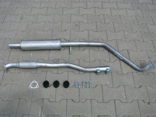 Auspuff Chevrolet Matiz 0.8 1.0 2005-2010 Mittelschalldämpfer *F093