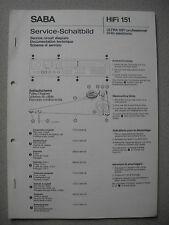 SABA Ultra HiFi Professional 9140 Electronic Service Manual inkl Ersatzteilliste