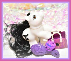 My-Little-Pony-MLP-Vtg-G1-Style-HQG1C-BATTY-BOO-Baby-Newborn-Halloween
