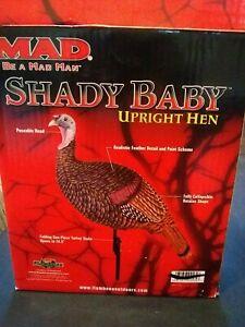 Flambeau Outdoors MAD SMOKY BABY UPRIGHT HEN TURKEY DECOY HUNTING BIRDWATCHING