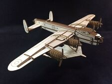 Laser Cut Wooden WW2 Lancaster Bomber 3D Model/Puzzle Kit
