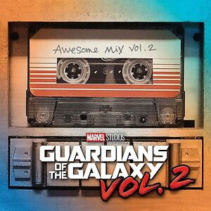 Guardians of The Galaxy Awesome Mix Vol 2 Cassette Tape Album